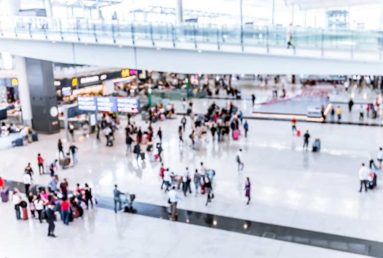 Location based services for airports