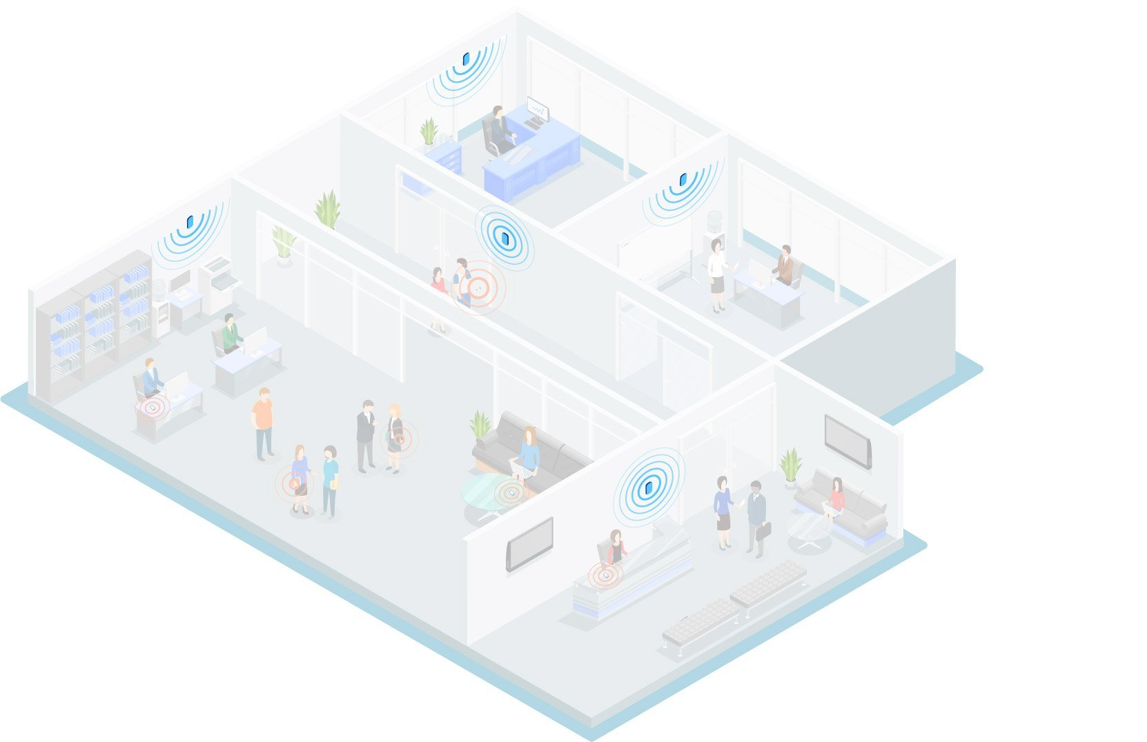 BLE beacons for indoor positioning in any venue